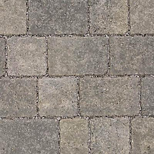 Marshalls Drivesett Tegula Priora Pennant Grey Block Paving 240mm x 160mm x 60mm - Pack of 232 (8.91m2)