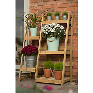 Plant Ladder Display - 4 Tiers