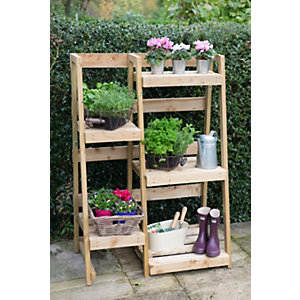 Plant Ladder Display - 5 Tiers