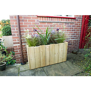 Windsor Timber Planter - Long