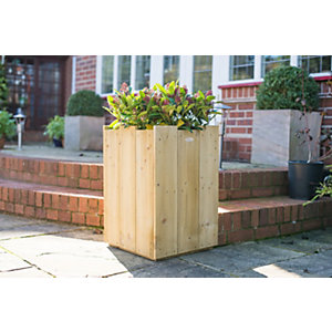 Windsor Timber Planter - Square