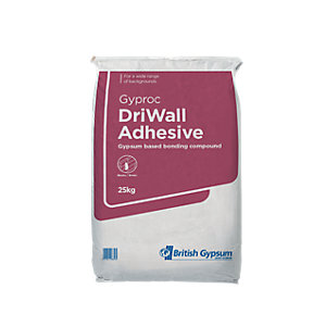 British Gypsum Gyproc General Purpose Drywall Plasterboard Adhesive 25kg