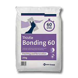 British Gypsum Thistle Bonding 60 Minute 25kg