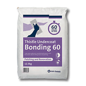 British Gypsum Thistle Bonding Coat 60 Minute 12.5kg