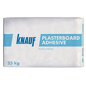 Knauf Multi-Purpose Gypsum Based Drywall Plasterboard Adhesive 25kg