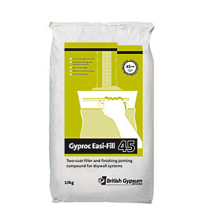 British Gypsum Gyproc Easi-fill 45 Joint Filler 10kg