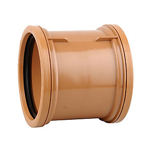 OsmaDrain Double Socket Pipe Coupler 160mm 6D205