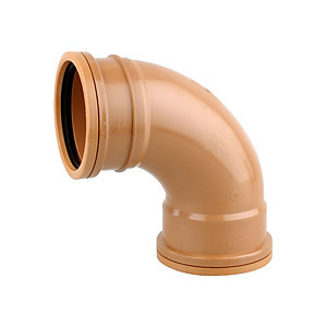 OsmaDrain Drainage Double Socket Short Radius Bend 87Degree 110mm 4D561