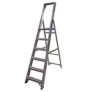 Lyte Class 1 Trade 6 Tread Platform Ladder ESP6
