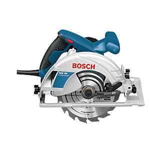 Bosch 230V Corded 190mm 1400W Circular Saw 601623070