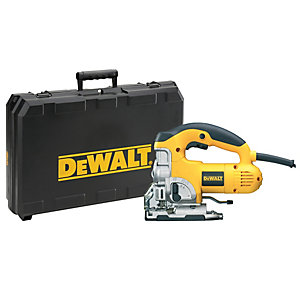 DeWalt 240V Corded Heavy Duty Top Handle 701W Jigsaw DW331K-GB