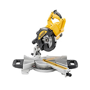 DeWalt XPS 110V Corded 216mm 1400W Slide Mitre Saw DWS774-LX