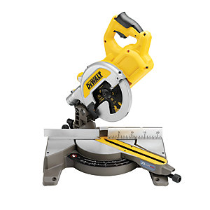 DeWalt XR 54V Cordless 216mm Li-Ion FLEXVOLT Mitre Saw Body Only DCS777N-XJ