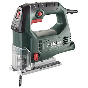 Metabo Steb 65 Quick 110V,  450W, 65mm Bow Handle Jigsaw with Carry Case