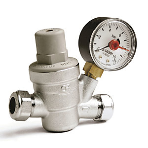"Altecnic 3/4"" Pressure Reducing Valve Complete with Gauge 533251H"