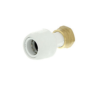 HEP2O HD25A/15W Straight Tap Connector 15mm x 1/2""