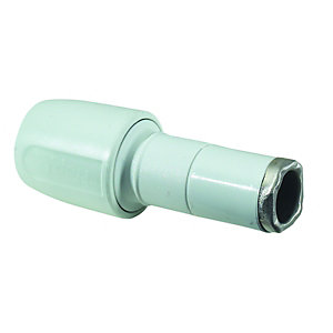 Hep2O Push Fit Spigot/Socket Reducer 15mm x 22mm
