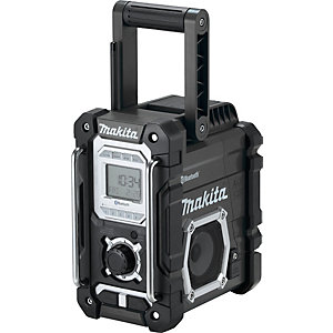 Makita Cordless & AC Bluetooth Speaker Digital Display Black DMR108B