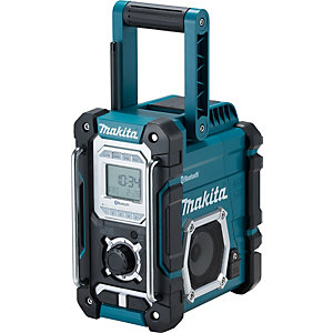 Makita Cordless & AC Bluetooth Speaker Digital Display Blue DMR108