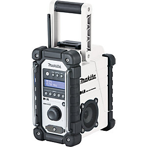 cordless makita dewalt site radios speakers travis. Black Bedroom Furniture Sets. Home Design Ideas