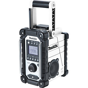 Makita White Site Radio DMR107W
