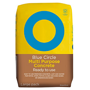 Blue Circle Ready To Use Multi Purpose Concrete Plastic Waterproof Packaging 20kg