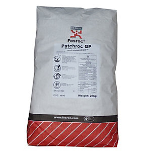 Fosroc Patchroc GP Patching Mortar 25kg Bag 2060002