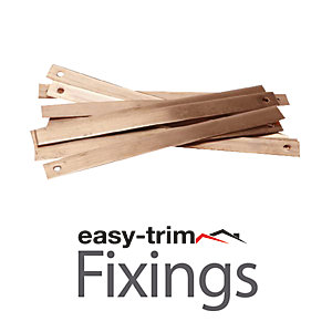 Easytrim Easy Fix Copper Slate Strap 100 Pk