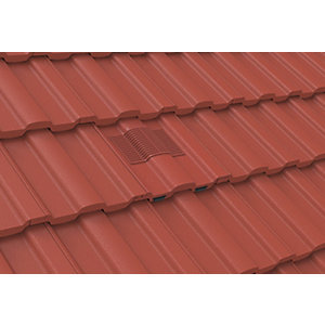 Manthorpe Castellated Tile Vent Terracotta GTV-CS