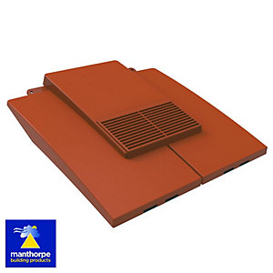 Manthorpe Plain Tile Vent Terracotta