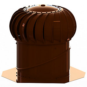 Lomanco Vent Turbine Set BIB12 - Brown