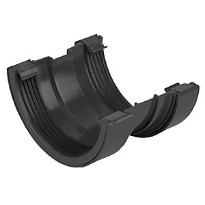 Osma RoundLine 0T009 Gutter Union 112mm Black