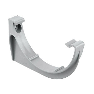 Osma RoundLine 0T019 Gutter Support Bracket 112mm Grey