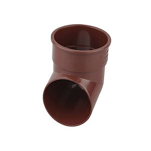 Osma RoundLine 0T037 Pipe Shoe 68mm Brown
