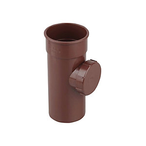 Osma RoundLine 0T274 Access Pipe With Screwed Door 68mm Brown