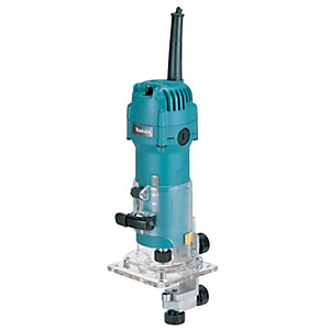"Makita 110V 1/4"" Trimmer 3707F/1"