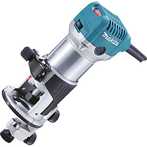 "Makita 240V 1/4"" Router/Trimmer RT0700CX4/2"