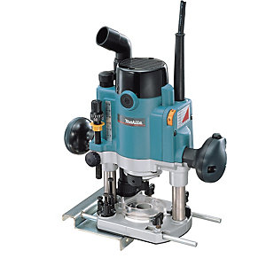 Makita 240V 1100W 1/4in Plunge Router RP1110C/2
