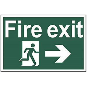 Fire Exit (Running Man with Arrow Right) (Regular) 1504