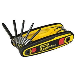 Stanley FatMax Locking Hex Keys Pack 9