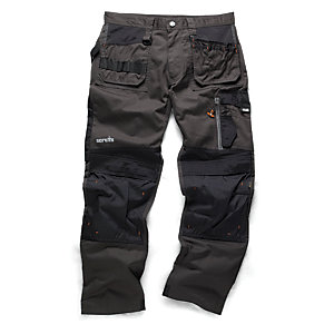"Scruffs 3D Trade Trouser Graphite 38""W"