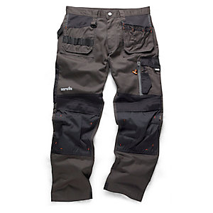 "Scruffs 3D Trade Trouser Graphite 40""W"