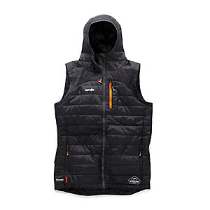 Scruffs Expedition Thermo Hooded Gilet Black