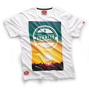 Scruffs Sunrise T-Shirt White