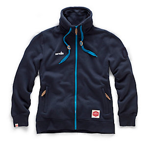 Scruffs Vintage Zip Thru Fleece Navy