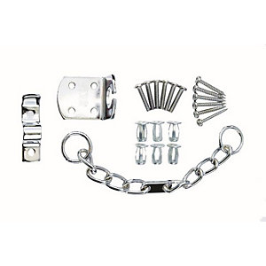 4Trade Security Door Chain Chrome