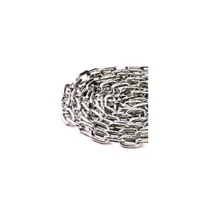 4Trade Welded Link Chain Bright Zinc Plated 2.5 x 24mm