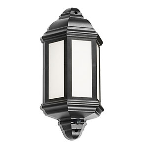 LANT4 LED Half Wall Lantern with PIR