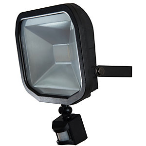 Security outside lighting electrical supplies online electrical luceco guardian slimline 30w led floodlight warm white aloadofball Image collections
