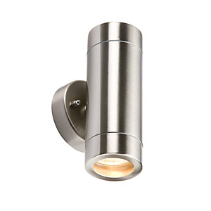 WALL2L Lightweight Stainless Steel Up & Down Light